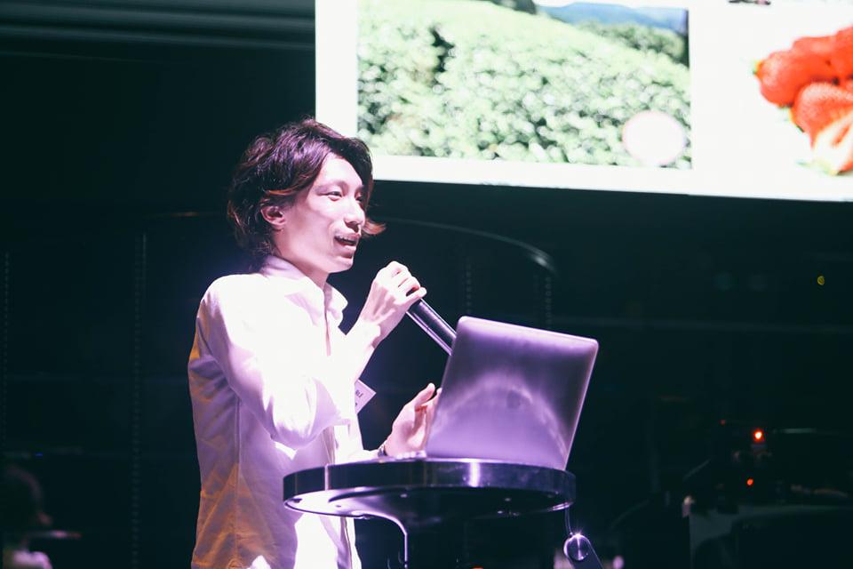 永田さんが登壇したGGA(GLOBAL GEEK AUDITION)の模様